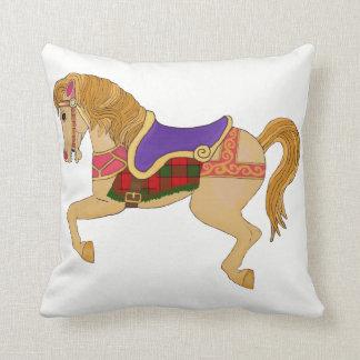 CArousel Horse Cushion