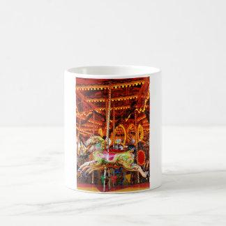 Carousel horse design coffee mug