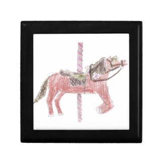 Carousel Horse Design Gift Box