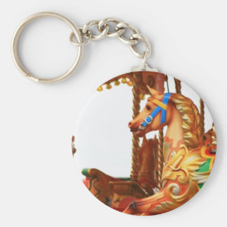 Carousel Horse Key Ring
