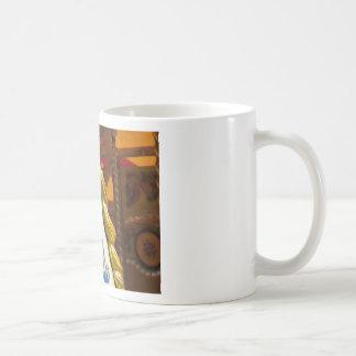 Carousel horse on merry goround coffee mug