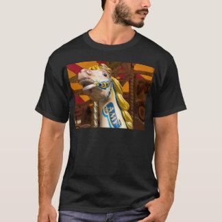 Carousel horse on merry goround T-Shirt