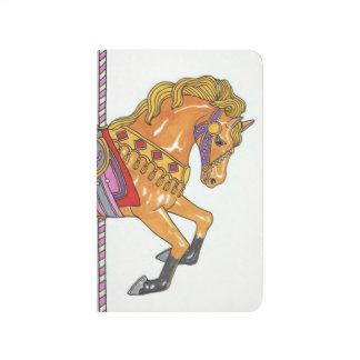 Carousel Horse pocket notebook