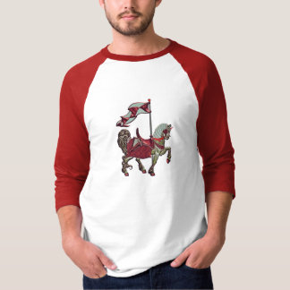 carousel horse_red_detail T-Shirt