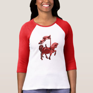 carousel horse_red T-Shirt