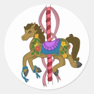 Carousel Horse Sticker