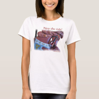 carousel_horsej_3643_ Njoy the ride T-Shirt