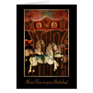 Carousel Horses Cards