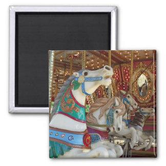 Carousel Horses Magnet