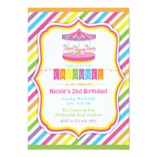 Carousel Invitation / Carousel Invite