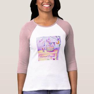 Carousel Ladies Raglan T-Shirt