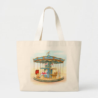 'Carousel' Large Tote Bag