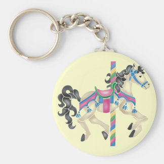 Carousel Merry Go Round for kids Key Chain