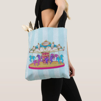 Carousel - Merry-go-round Tote/Bag Tote Bag