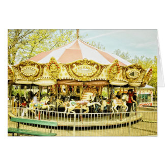 Carousel Note Card