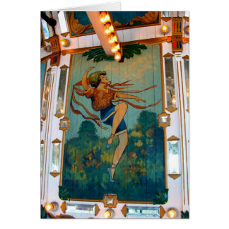 Carousel ~ Oaks Park, Portland Oregon Card
