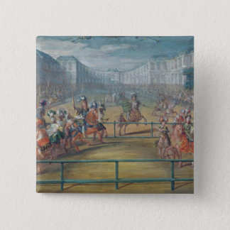 Carousel of Amazons in 1682 15 Cm Square Badge