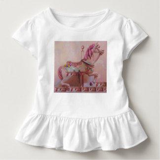 Carousel pink horse toddler T-Shirt