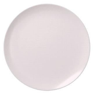 Carousel Pink Plate