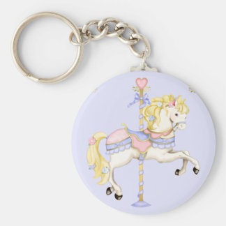 Carousel Pony Key Ring