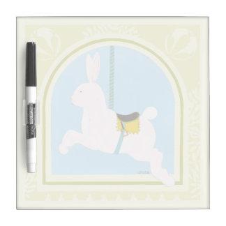 Carousel Rabbit by June Erica Vess Dry Erase Board
