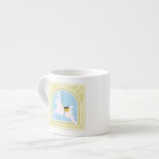 Carousel Rabbit by June Erica Vess Espresso Cup