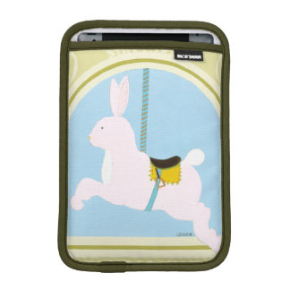 Carousel Rabbit by June Erica Vess iPad Mini Sleeve