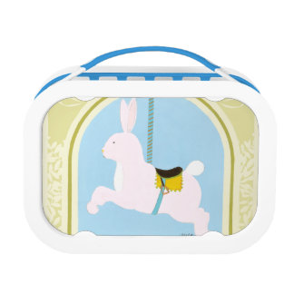 Carousel Rabbit by June Erica Vess Lunch Boxes