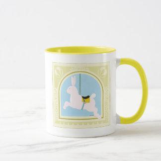 Carousel Rabbit by June Erica Vess Mug
