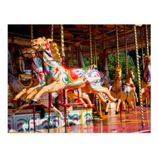 Carousel Ride Postcard