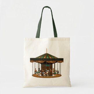 Carousel Ride Tote Bag