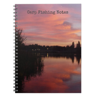 Carp Fishing Catch & Conditions logbook Notebook