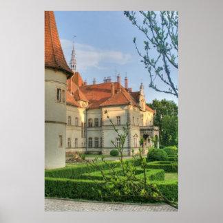 Carpathian Castle Poster
