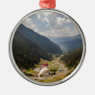 Carpathian mountains christmas ornament