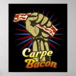 Carpe Bacon $24.95 Graphic Art Wall