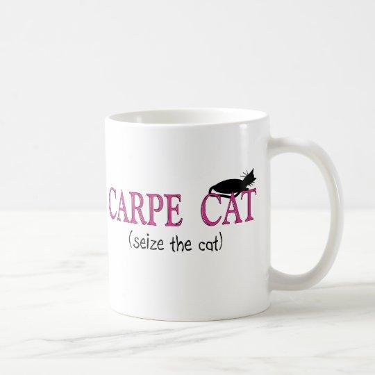 Carpe Cat (Seize The Cat) Gifts Coffee Mug