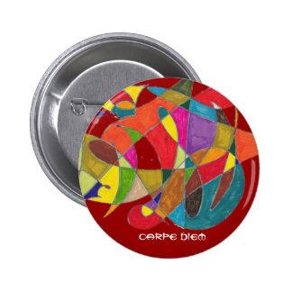 Carpe Diem 6 Cm Round Badge