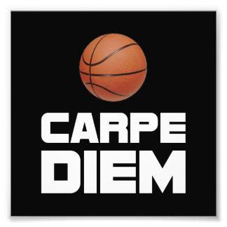 Carpe Diem Basketball Photograph