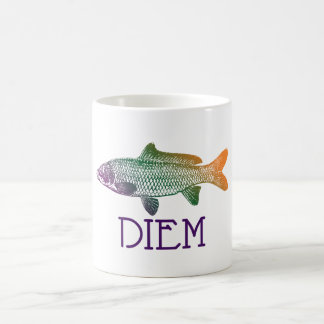 Carpe Diem | Carp Diem | Seize the Day mug