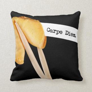 Carpe Diem Fortune Cookie Cushion