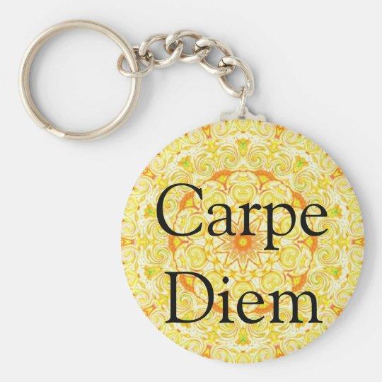Carpe Diem Key Ring