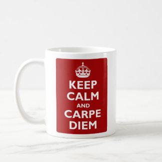 Carpe Diem! Classic White Coffee Mug