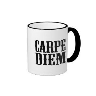 Carpe Diem Coffee Mugs
