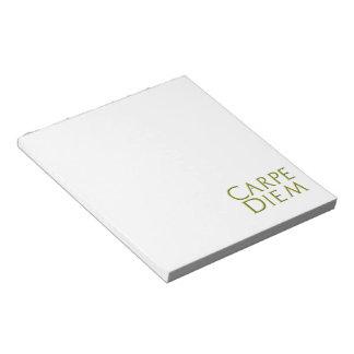 Carpe Diem Notepad