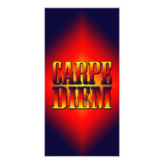 Carpe Diem Photo Greeting Card