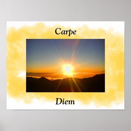 Carpe Diem - poster