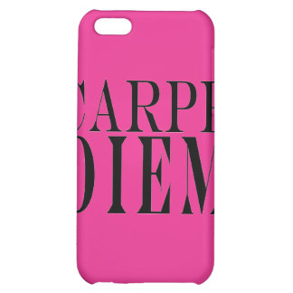 Carpe Diem Seize the Day Latin Quote Happiness iPhone 5C Covers