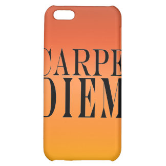 Carpe Diem Seize the Day Latin Quote Happiness iPhone 5C Case