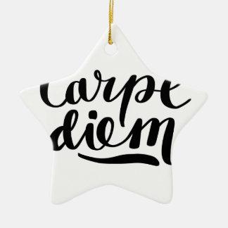 CARPE DIEM shirts, accessories, gifts Christmas Ornament