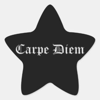 Carpe Diem Star Sticker